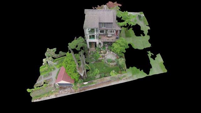 Zillowphantom SAVED Simplified 3d Mesh 3D Model