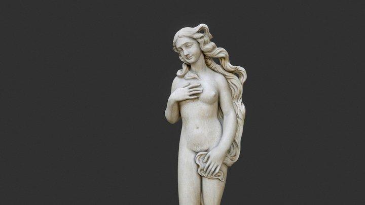 The Birth of Venus 3D Model