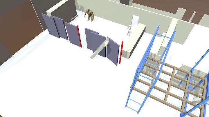 Bp Schuifwand 3D Model