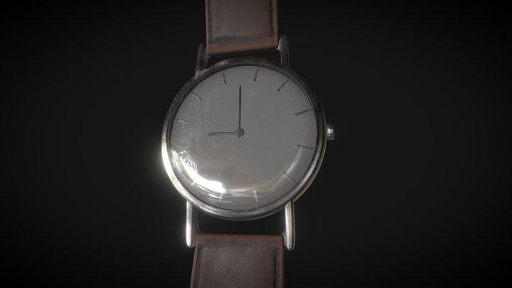 The Clock 3D Model