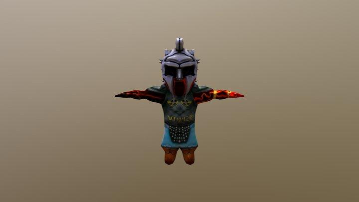 Gladiador 3D Model