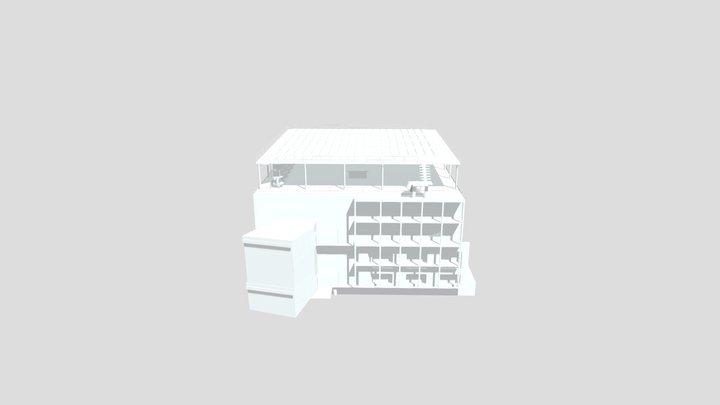 Plateforme CES 3D Model