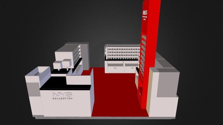 GC-NYS-KIOSK-01 3D Model