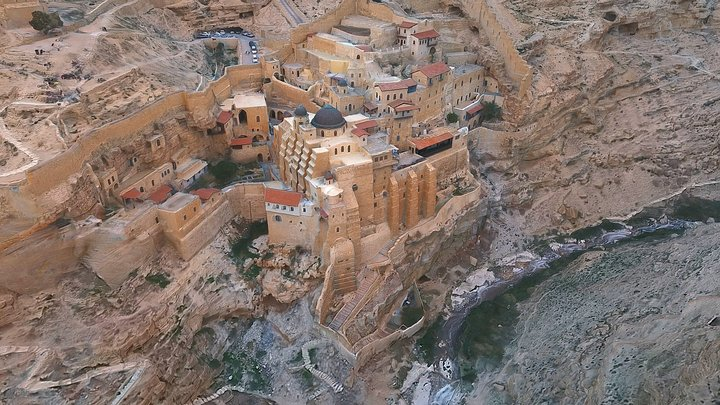 Mar Saba monastery 3D Model