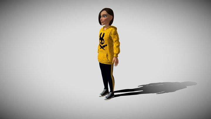 Nerdotellis - Ava 3D Model