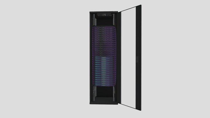 Configuración a medida Smart Rack Plus 47U - v1 3D Model