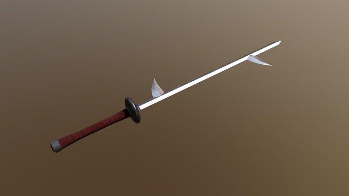 Kiba Sword - Naruto 3D Model