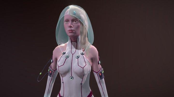 Cyberpunk Alice 3D Model
