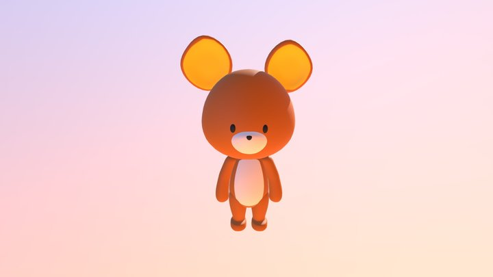 Kuma3 3D Model