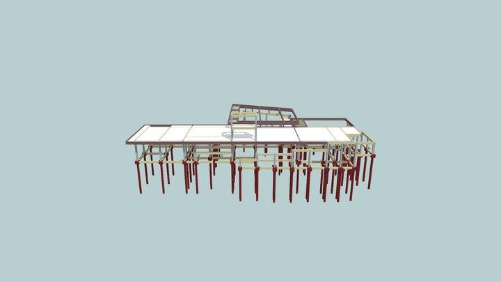 3D Estrutural Ubyratan 3D Model