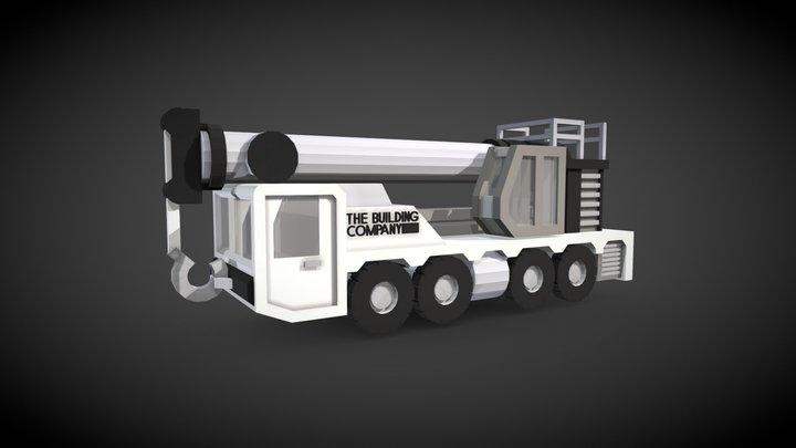Mounted Crane #bbblocktober