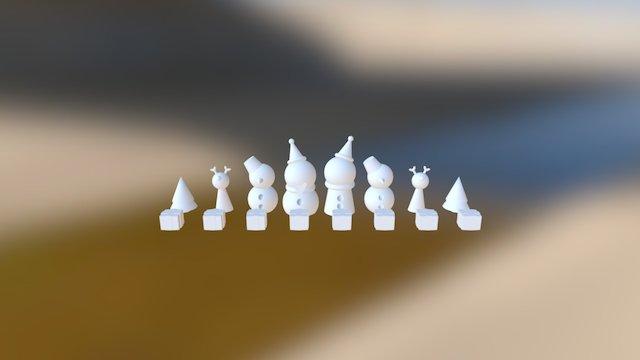 Chess_2016_12 3D Model