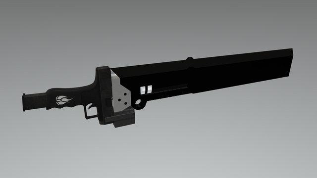 RWBY Blakes Gambol Shroud 3D Model