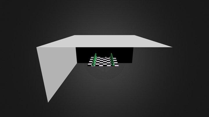 Chess Piece 3D Model