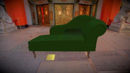 Chaise Long 3D Model