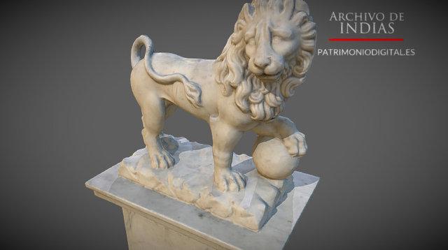 León #1 - Archivo de Indias 3D Model