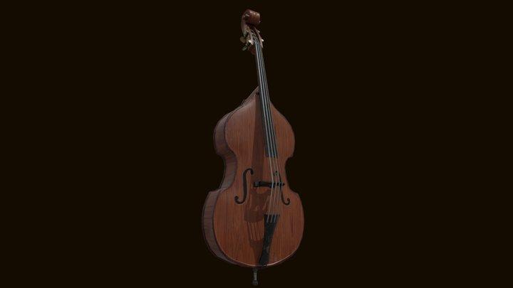 Double Bass / Controbass 3D Model