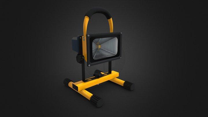 Spot Lamp 3D Model