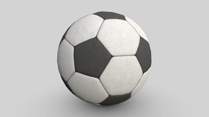 """Soccer Ball """"New"""" 3D Model"""