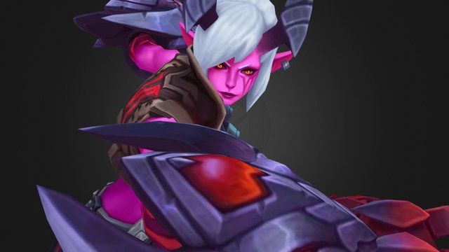 League of Legends: Demon Vi 3D Model