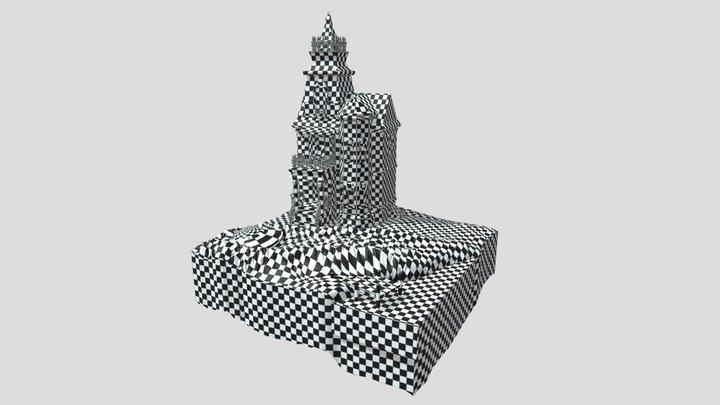 Cube World (unwrap) 3D Model