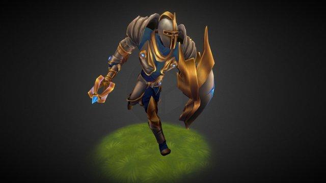 Knight Oberon 3D Model