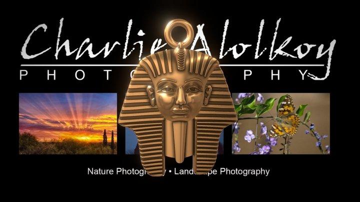 Pharaoh Pendant 3D Model