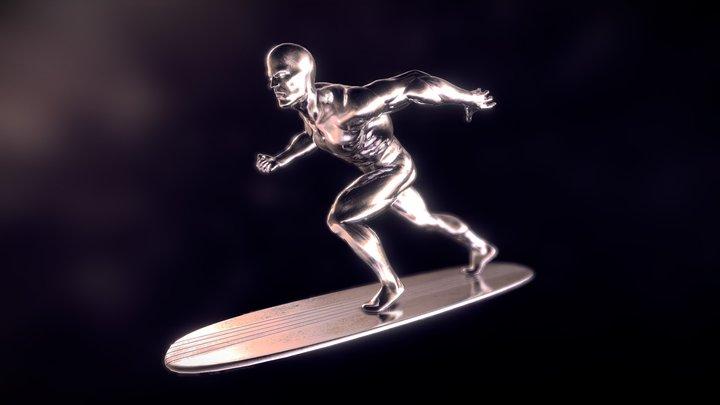 Silver Surfer 3D Model