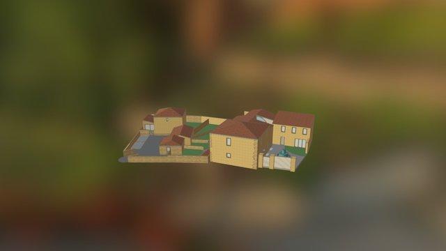 Hameau de Sinsans (Gard) 3D Model
