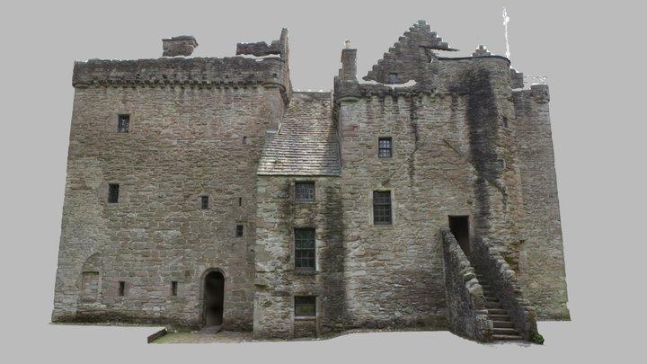 Scotland: Perth, Huntingtower Castle 3D Model