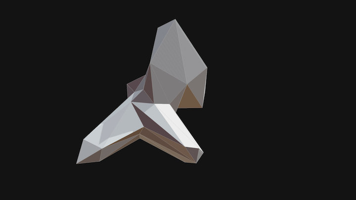 Projet2 Sceno Gantelet 3D Model
