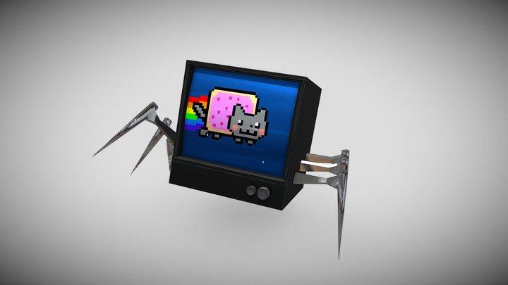 Sentient TV 3D Model