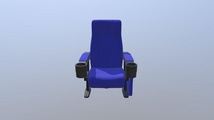 Cinema Armchair 3D Model
