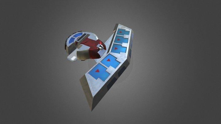 Battle City Duel Disk 3D Model