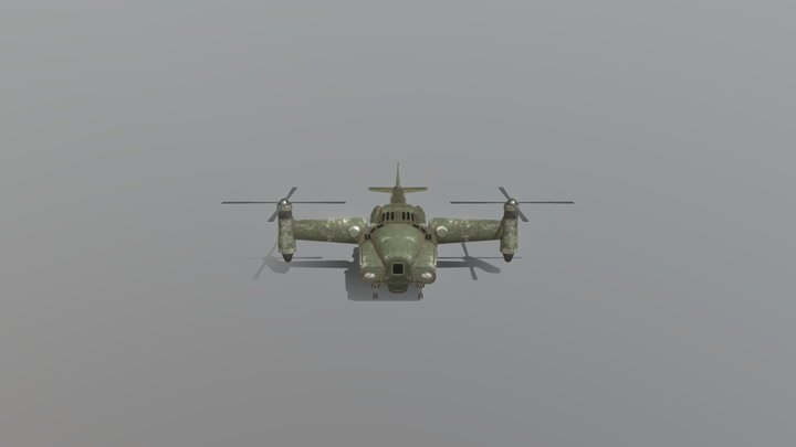 Vertibird Transporter 3D Model