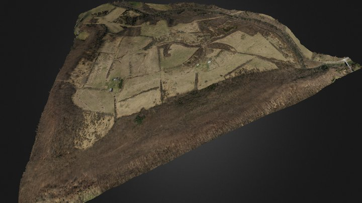 Elbow Ridge 3D Model
