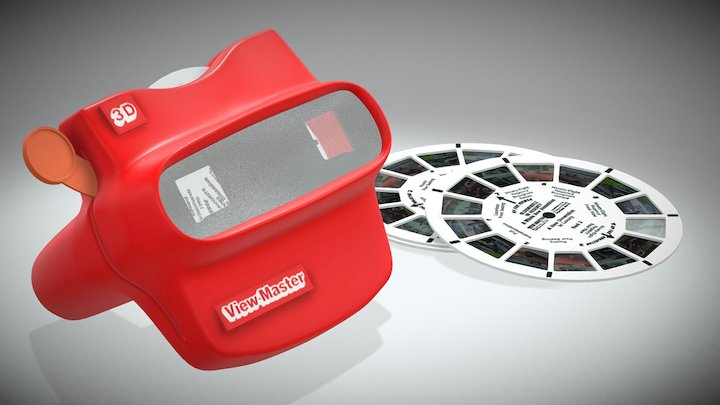 View-Master 3D [Animated] 3D Model