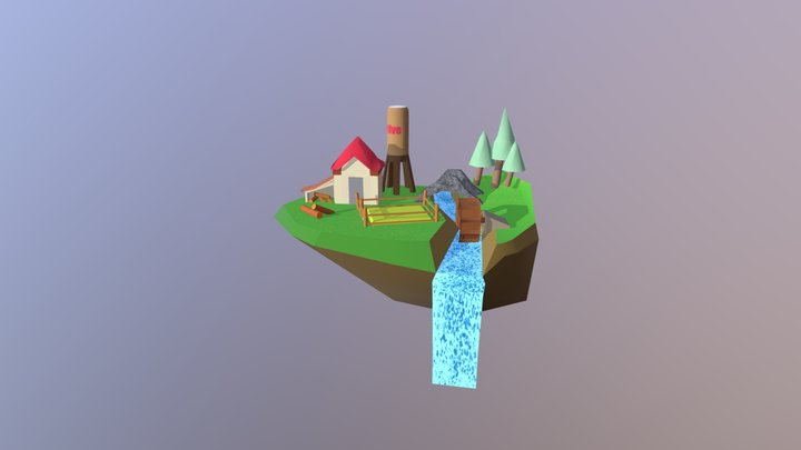 Eiland Done 3D Model