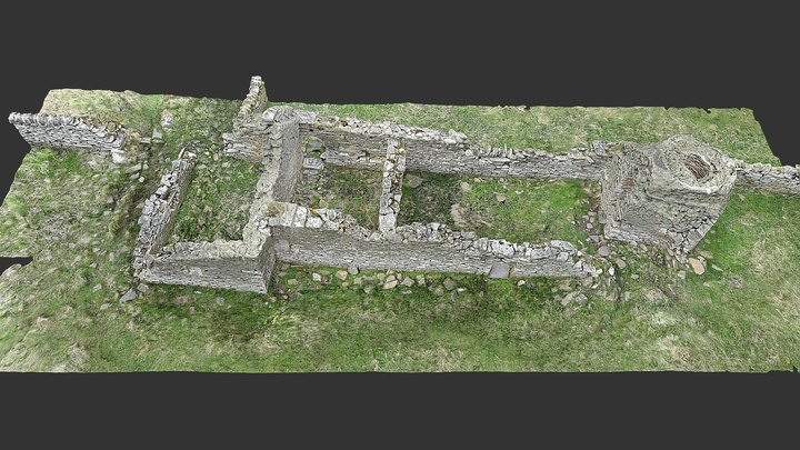 Skaill Kiln Barn, Rousay, Orkney 3D Model