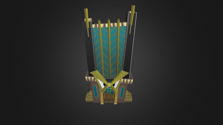 Toontown 2 Cogdominium Prototype 3D Model