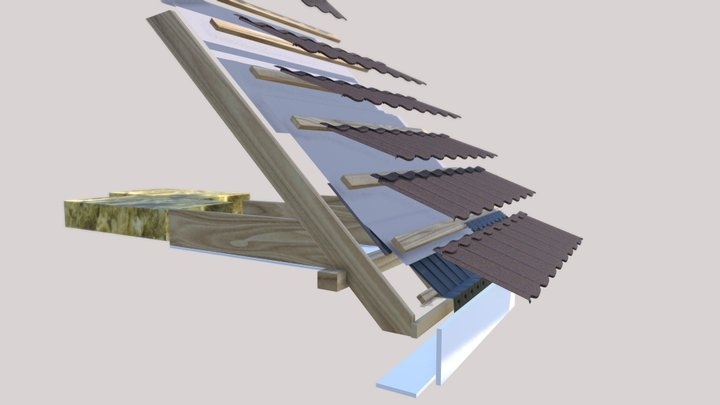 Metrotile Bond Tile 3D Model