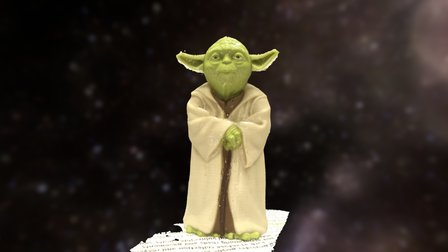 Yoda2 3D Model