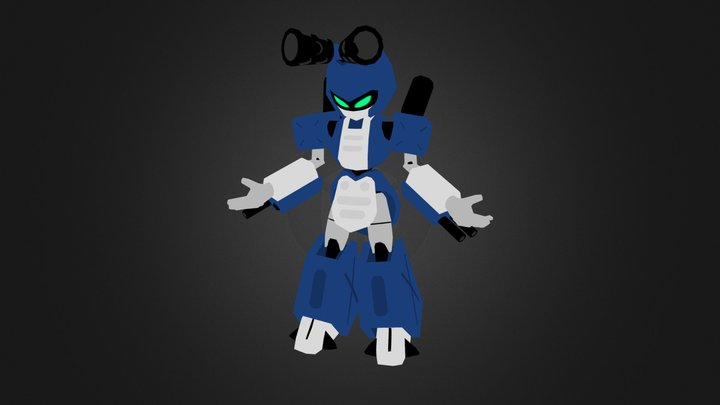 Metabee - Medabots 3D Model