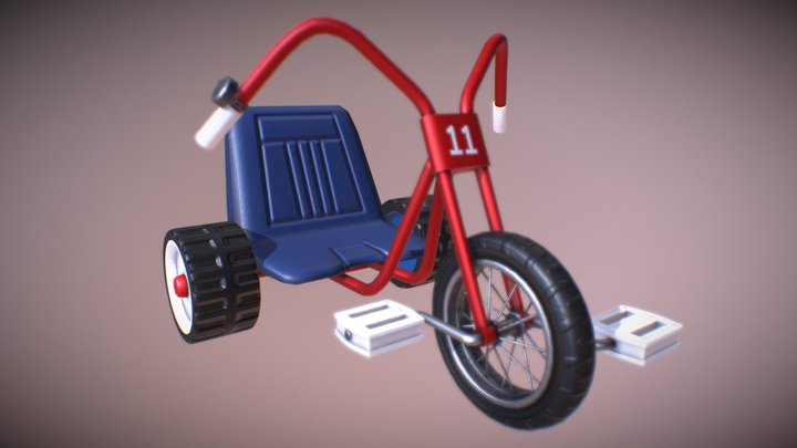 Danny's Tricycle 3D Model