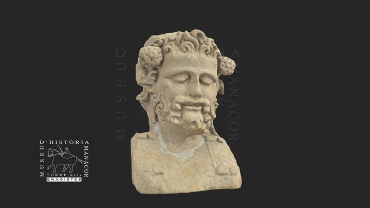 Bust de Bacus 3D Model