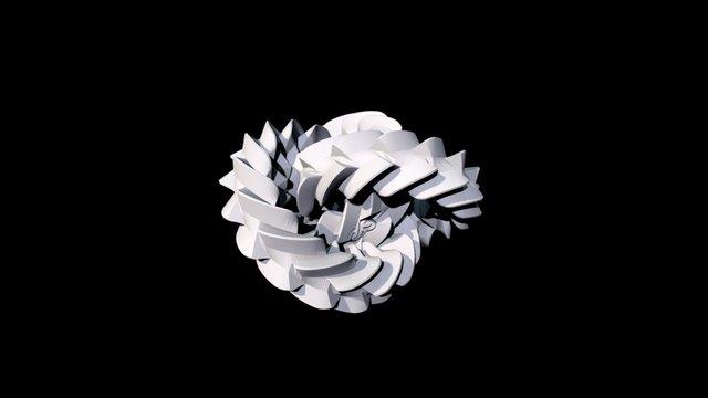 Triple gear 3D Model