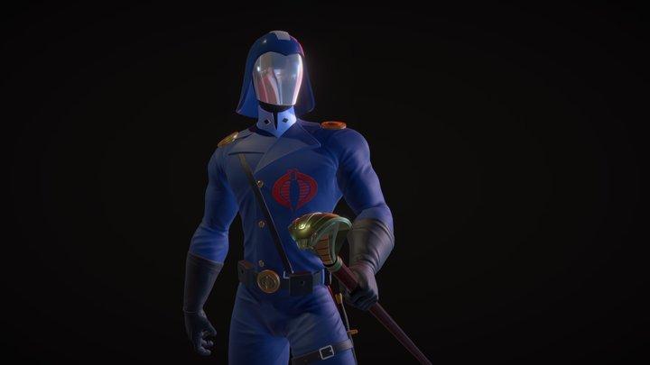 Cobra Commander 3D Model