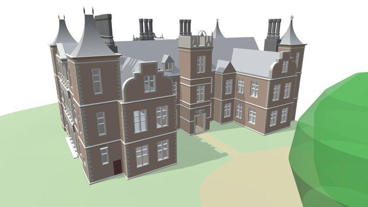 Houghton House (Heritage) - 3D Building Model 3D Model