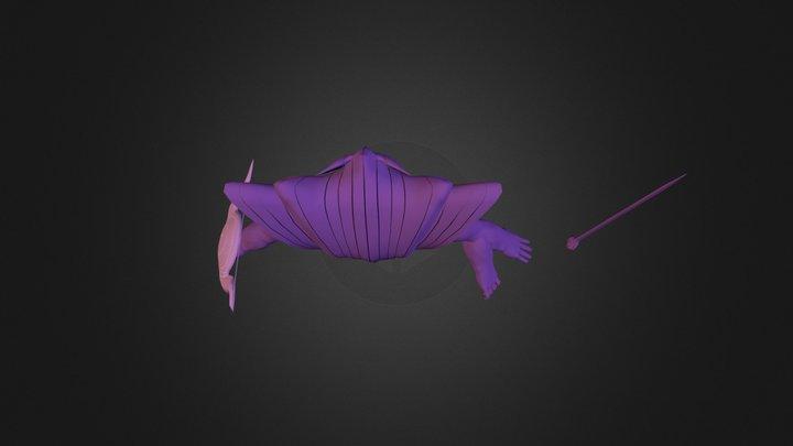 SASUKE'S SUSANO 3D Model