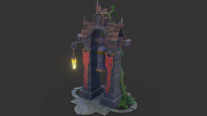 Bell House 3D Model